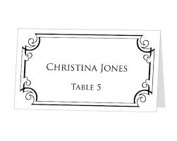 INSTANT DOWNLOAD Print at Home Place Cards Template by 43Lucy, $9.95