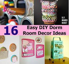 16 easy diy dorm room decor ideas diycozyworld home