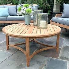 round outdoor coffee table. Teak Outdoor Coffee Table Round Interior Design For  Impressive I