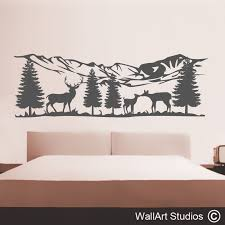 headboard wall art stickers headboard wall decals wall art studios
