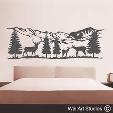 headboard wall art stickers headboard wall decals wall art studios