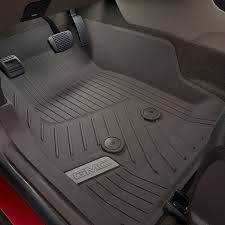 2016 canyon all weather floor liners front cocoa