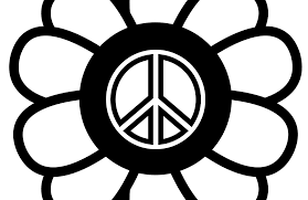 Small Picture signs Magnificent Peace Sign Clip Art Black And White With Peace