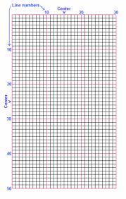 Cross Stitch Chart Generator Print Cross Stitch Graph Paper In 6ct 9ct 10ct 11ct 14ct