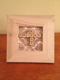 its a cute gift idea you could add your name and your best friends