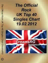 Top 40 Singles Chart 2012 The Official Uk Rock Top 40 Singles Chart 19 02 2012