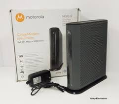 motorola 8x4 cable modem. motorola 8x4 343 mbps 3.0 cable modem with n300 wi-fi router mg7310 - $52.49 s