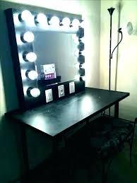 vanity desk mirror with lights makeup table and mirror with lights vanity desk small desktop vanity mirror with lights