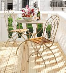 how do you clean metal patio furniture