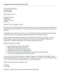 Staff Pharmacist Entry Cover Letter Cover Letter Examples For Retail