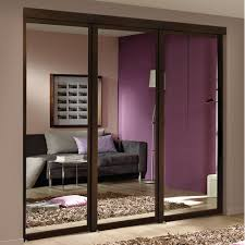 bedroom mirrored sliding closet doors wonderful installation for