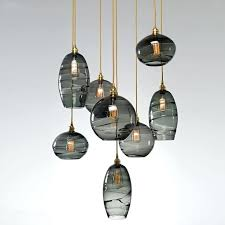 blown glass lighting best hand blown glass lighting images on pertaining to prepare 8 blown glass blown glass lighting
