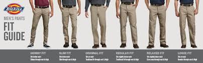 Dickies Jeans Size Chart Dickies Mens Slim Straight Fit Work Pant