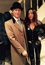 andrew ridgeley. Interesting Andrew Andrew Ridgeley And His Wife Dressed As Steed Mrs Peel From The  Avengers For New On
