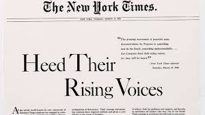 New York Times V Sullivan The Civil Rights Heroes The Court Ignored In New York Times
