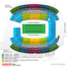 Gillette Stadium Concert Tickets And Seating View Vivid Seats