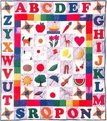 230 best Alphabet Quilts images on Pinterest   Colors, Creative ... & Alphabet Quilt Pattern - The Virginia Quilter Adamdwight.com
