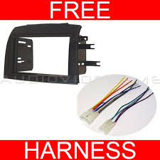 double din wiring harness double image wiring diagram 2004 2010 toyota sienna double din radio installation dash kit on double din wiring harness