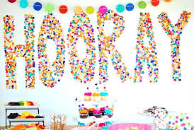 cool birthday party decoration ideas cheap birthday decorations