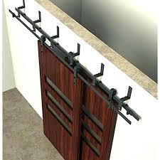 rustic door hardware rustic door hardware 6 bypass rustic sliding barn wood closet door interior sliding