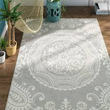 surging wayfair indoor outdoor rugs shocking mistana gladwin light gray indooroutdoor area rug u reviews