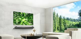the new lg signature wallpaper tv combines oled screen powerful dolby atmos sound and