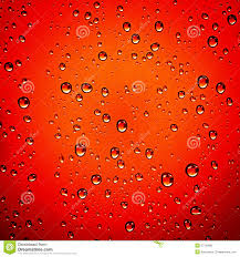 Water Droplets Background Water Drops On Red Background Stock Photo Image Of Bright Bubble