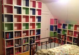 replacing bookshelves with way basics cube storage  disobeycom