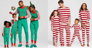 Target Pajamas Size Chart Target Com Score Four Sets Of Matching Family Pajamas For