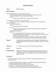 Extracurricular Activities Resume Perfect Resume