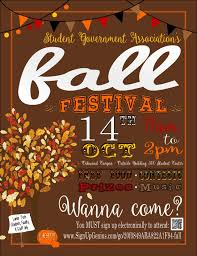 Fall Festival Flier Oakwood Fall Festival Flyer 2015