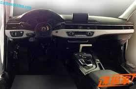 audi a4 2016 spy shots.  Audi Audia4china12 Intended Audi A4 2016 Spy Shots S
