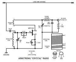 armstrong crystal radio armstrong crystal radio schematic