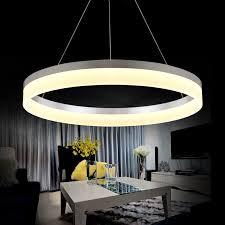 modern led chandeliers modern led ring chandelier light arcylic led chandelier
