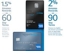 Amazon business prime american express card. Amex Amazon Launch Co Branded Card For Small Businesses In The Uk