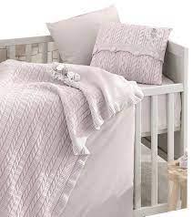 rose garden 6 piece crib bedding set in