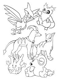Pokemon Paradijs Kleurplaten Kleurboek Coloring Book Zenkoku