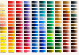 Color Charts Names Omega4study
