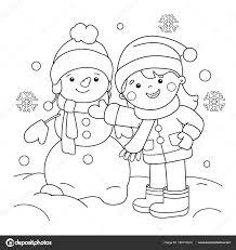 Leuk Voor Kids Winter 75 Beste Kleurplaat Winter Top Beste