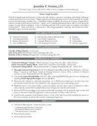 Sample In House Counsel Resume Sample In House Counsel Resume For