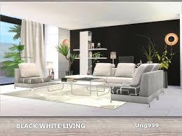modern living room sets black. White Modern Living Room Set Black Leather Chairs Sets R