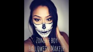 zombie boy makeup