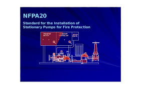 nfpa20 standard for the installation of stationary pumps for fire pro