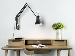 contemporary desk lamps office. Contemporary Desk Lamps Office Lamp Chrome Led Task Lighting With Hutch Perth