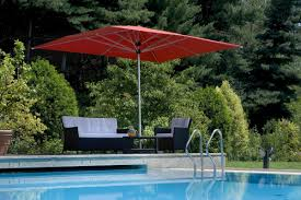 patio with square pool. Square Patio Umbrella With Pool G