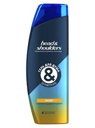 <b>Гель</b> для <b>душа</b> и шампунь Sport, 360 мл. HEAD & SHOULDERS ...