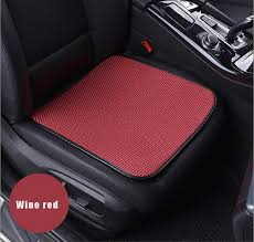 ice silk charcoal car seat covers cushion pad mat for car auto office chair