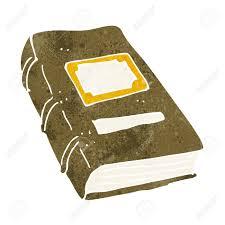 cartoon old book stock vector 25949087