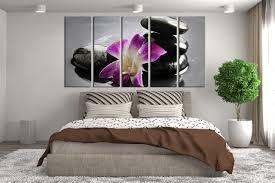 purple canvas wall art large