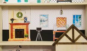 diy dollhouse furniture. Remodelaholic | DIY Dollhouse Tutorial + Free Printable Furniture Diy